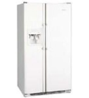 White Frigidaire 22.6 cubic feet with ice and water filtration system and freezer compartment