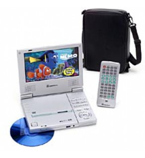 CyberHome Portable Progressive Scan Code Free DVD Player & PAL-NTSC Converter w-car carrying case