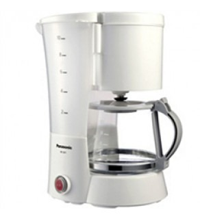 Panasonic NC-GF1WSH 10 Cup 800 Watt Coffee Maker 220 Volts