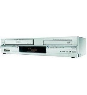 Toshiba DVD-VCR Combo Player, Nicam Stereo, 6 Heads, DVD-Video CD Audio CD-R CD-RW SVCD DVD-R DVD+R