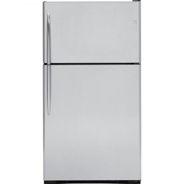Ge 25 Cu Ft Pte25sbtss Top Freezer Refrigerator 220 Volts