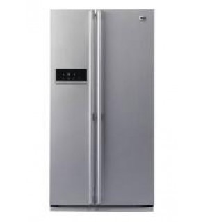 LG 20 Cu.ft (approx.)GR-B208BLQ SIDE BY SIDE refrigerator 220 Volts