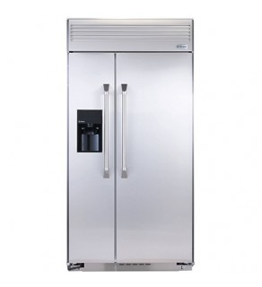 "Ge 25 Cu.Ft 42"" Zsep42Dy-Ss Stainless Steel Refrigerator 220 Volts"