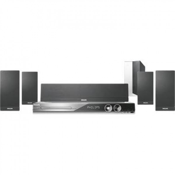 Philips HTS3544-37b Home Theater System w- HDMI & iPod Connect ...
