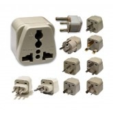 WonPro Universal Grounded Plug adapter set