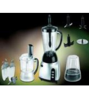 Frigidaire FD5115 Stainless Steel 3 in 1 Food Processor with Blender 220 Volts