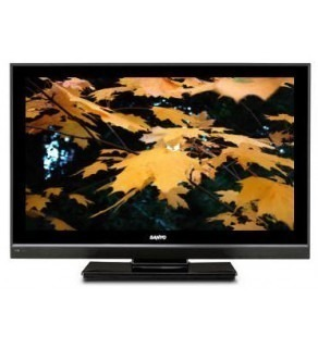 "Sanyo LCD-19R30 19"" MULTISYSTEM LCD TV FOR 110-240 VOLTS"