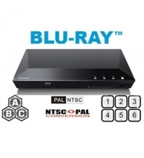 Sony BDP-S1100 DVD Blu-ray Multi-Region Code-Free Disc Player (Default)