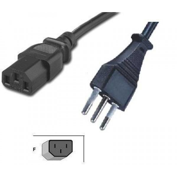 Power Cable Types : Italian power cord ft volts