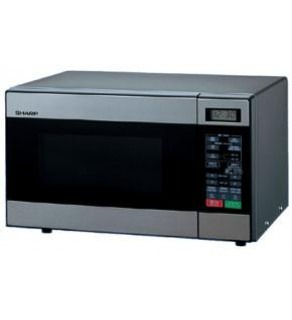 Sharp R-299T Microwave 22L Stailess Steel Facia 220 Volts