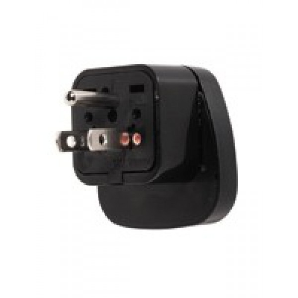 Universal Schuko Adapter To Us Grounded Adapter Plug