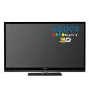 "Sharp 52"" LE52LE830 LCD LED Multisystem 3D TV FOR 110-220 VOLTS"