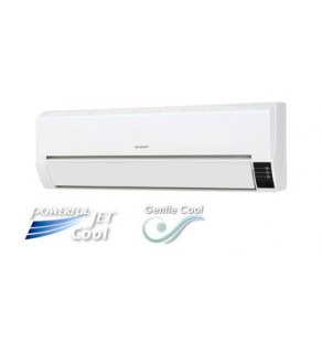 Sharp 9,000 BTU Air Conditioner with Powerful Jet & Gentle cool mode 220 Volts