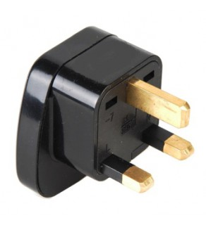 Universal Shucko adapter to UK Grounded Power Plug Adapter