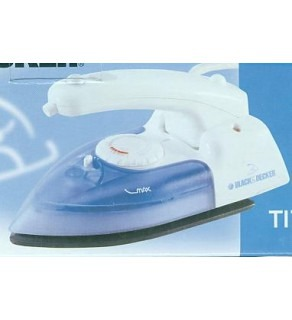 Black and Decker T1747 Travel Iron (110 ~ 220 volt)