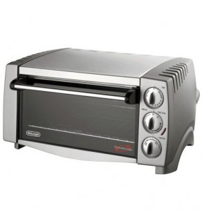 DELONGHI STAINLESS STEEL CONVECTION OVEN WITH PIZZA BACK FOR 220 VOLTS