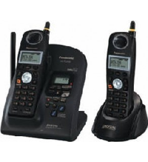 PANASONIC KX-TG2632B 2.4 GHZ DUAL HANDSET CORDLESS WITH DIGITAL ANSWERING SYSTEM