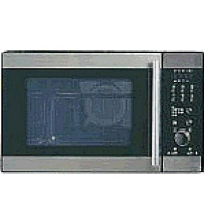 GE JEI1044 SB (STAINLESS-BLACK) 1.1 CU FT MICROWAVE OVEN FOR 220-240 VOLTS