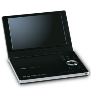 "Toshiba Sd-P1900 9"" Screen Portable Code Free Dvd Player 110 220 Volts"