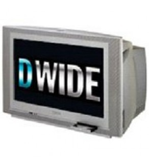 "30"" Real Flat Widescreen TV-DVD Combo"