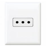 Type L Electrical Receptacle Outlet for italy 10 AMP