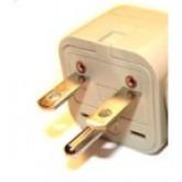 WonPro WA-18 Universal to North American NEMA 6-15 Grounded Power Plug Adapter
