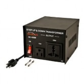 Simran AC-500, 500 Watts Step Up and Down Voltage Converter Transformer 110-220 Volts