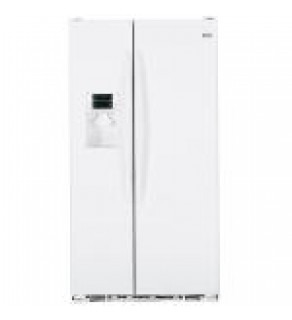 Ge 23 Cu.Ft Pce23Vgxfww Sid By Side Refrigerator 220 Volts