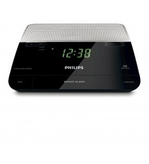 Philips AJ-3226 Analogue Tuning FM Clock Radio 220 Volts