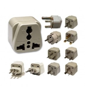 Grounded Plug adapter set