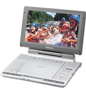 "PANASONIC DVDLS91 9"" Portable DVD Player FOR 110-220 VOLTS"