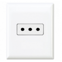 Type L Electrical Receptacle Outlet for Italy 10 amps 250v