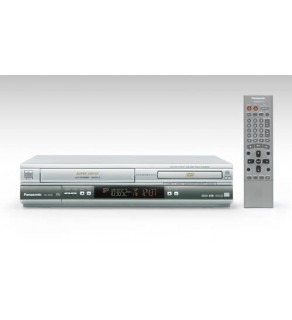 Panasonic NV-VP60 Code Free DVD-Multi-System VCR Combo