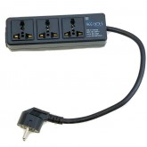 Regvolt Universal 3-Outlet Power Strip for Worldwide Travel