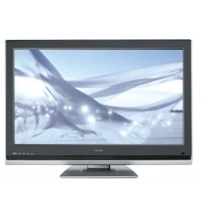 "TOSHIBA 42"" MULTISYSTEM LCD TV HIGH DEFINITION READY FOR 110-240 VOLTS"