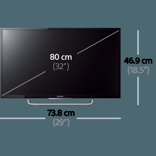 sony kdl 32w700 32 inch full hd internet multi system led tv 110 220 volts. Black Bedroom Furniture Sets. Home Design Ideas