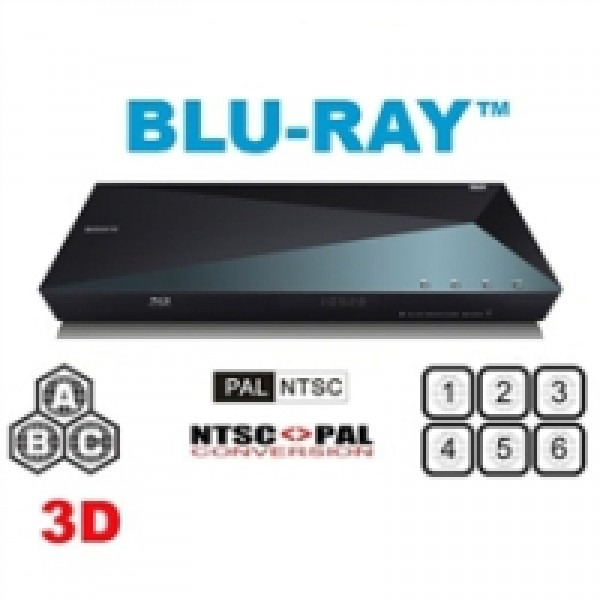 Sony BDP-S5100 Multi Region Code Free DVD 3D WiFi Blu-ray Disc Player