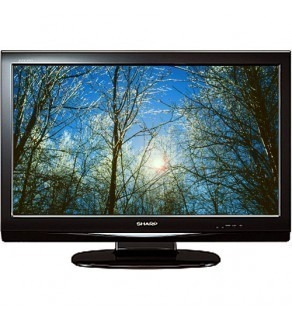 "Sharp LC32A33M 32"" AQUOS 720p Multi-System LCD TV (Piano Black)"