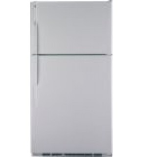 GE? 25 Cu Ft Top Mount Refrigerator GTE25DBSWW 220 Volts