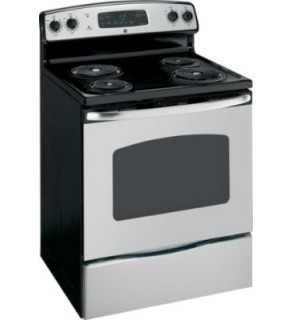 "GE JBP23SIRSS 30"" Stainless Steel Freestanding Electric Range FOR 220 VOLTS"