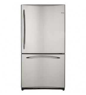 Ge 25 Cu.Ft Bottom Freezer Refrigerator - Single Door 220 Volts