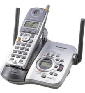 PANASONIC KX-TG5631S 5.8 GHZ CORDLESS PHONE WITH DIGITAL ANSWERING MACHINE