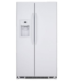Ge 25 Cu.Ft Gse25Kewf Side By Side Freezer/Refrigerator For 220V