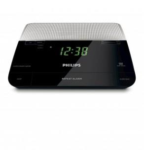Philips AJ-3226 Analogue Tuning FM Clock Radio 220 Volts