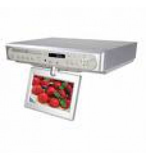 Coby 7 Tft Under The Cabinet Dvd Player Tv And Radio