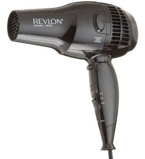 Revlon RVDR5012 Ceramic Ionic Travel Hair Dryer 100-240 Volts