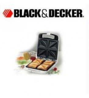 BLACK & DECKER 4 SLICE SANDWICH MAKER TS70 FOR 220 VOLT