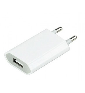 European AC Power Adapter Wall Charger Plug iPhone iPod & iPad
