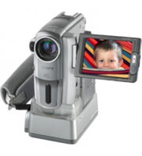 Sony 1.0 Megapixel MiniDV Camcorder w -10X Zoom & 2.5-Inch LCD Monitor