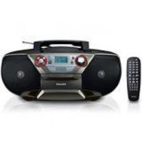 Philips AZ5741 with Region Free DVD Player Boombox 110-220 VOLTS
